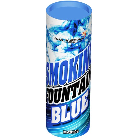 "Дым ""SMOKING FOUNTAIN BLUE/ Синий""  30 сек. (30/5)"